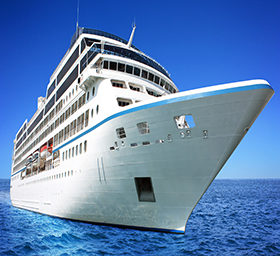 Huge luxury cruise ship; Shutterstock ID 83876563; PO: aol; Job: production; Client: drone